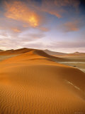 Sand Dune in Desert, Namibia Photographic Print by Peter Adams