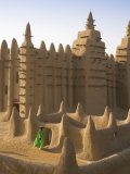 Djenne Mosque, Djenne, Niger Inland Delta, Mopti Region, Mali Photographic Print by Gavin Hellier