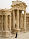 Theatre, Palmyra, Syria Photographic Print by Ivan Vdovin