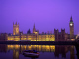 Houses of Parliament and Big Ben, London, England Photographic Print by Steve Vidler