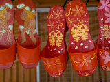Sandals For Sale in Chinatown, Melaka, Malaysia Photographic Print by Peter Adams
