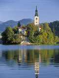 Lake Bled, Slovenia Photographie par Peter Adams