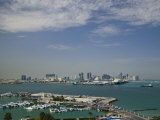 Marina at Doha Port, Doha, Qatar Photographic Print by Walter Bibikow