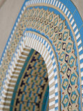 Arabian Tile Patterns at The Grand Mosque, Al-Ghubrah, Muscat, Oman Photographic Print by Walter Bibikow