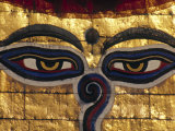 Swayambunath Stupa, Kathmandu, Nepal Photographic Print by Jon Arnold