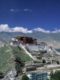 Potala Palace, Lhasa, Tibet Photographic Print by James Montgomery Flagg