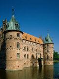 Egeskov Castle, Kvaerndrup, Funen, Denmark Photographic Print by Steve Vidler