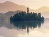 Lake Bled, Gorenjska, Slovenia Photographic Print by Peter Adams