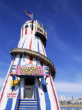 Helter Skelter at Brighton Pier, Brighton, Sussex, England Photographic Print by Steve Vidler
