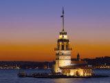 Kiz Kulesi, Salamac, Bosphorus, Istanbul, Turkey Photographic Print by Michele Falzone