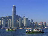 City Skyline, Hong Kong, China Photographic Print by Steve Vidler