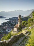Gospa Od Zdravlja Church, Kotor, Kotor Bay, Montenegro Photographic Print by Walter Bibikow