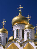 Kremlin, Annunciation Cathedral, Moscow, Russia Photographic Print by Steve Vidler