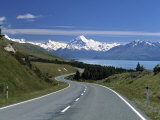 Mt. Cook, Southern Alps, South Island, New Zealand Photographic Print by Jon Arnold