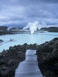 Blue Lagoon, Grindavik, Nr. Reykjavik, Iceland Photographic Print by Jon Arnold