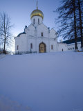 Cathedral of the Nativity, Zvenigorod, Moscow Region, Russia Photographic Print by Ivan Vdovin