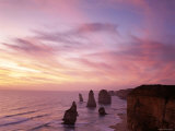 Port Campbell National Park, Twelve Apostles at Sunset, Victoria, Australia Photographic Print by Steve Vidler