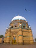 Islam Rukn i Alam mausoleum, Multan, Punjab Province, Pakistan Photographic Print by Michele Falzone