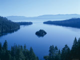 Lake Tahoe, Emerald Bay, Dawn , Tahoe, California, USA Photographic Print by Steve Vidler