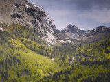 Vrsic Pass, Gorenjska, Slovenia Photographic Print by Walter Bibikow