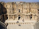 Roman Theatre, Bosra, Syria Fotografie-Druck von Ivan Vdovin