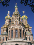 Church of the Resurrection, St. Petersburg, Russia Photographic Print by Jon Arnold