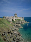 Fort La Latte, Cape Frehel, Brittany, France Photographic Print by Steve Vidler