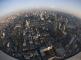 Aerial View over Bangkok, Thailand Photographic Print by Russell Young