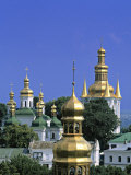 Church Towers, Kyiv-Pechersk Lavra, Kiev, Ukraine Photographic Print by Jon Arnold