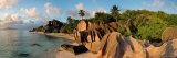 Anse Source d'Argent Beach, La Digue Island, Seychelles Fotografisk tryk af Michele Falzone