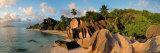Anse Source d'Argent Beach, La Digue Island, Seychelles Fotografie-Druck von Michele Falzone