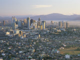 Pasig City Business Area Skyline, Manila, Philippines Photographic Print by Steve Vidler