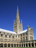 Norwich Cathedral, Norwich, Norfolk, East Anglia, England Photographic Print by Steve Vidler