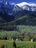 Zakopane, Tatra Mountains, Poland Photographic Print by Walter Bibikow