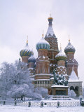 St. Basils, Moscow, Russia Photographic Print by Demetrio Carrasco