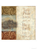 Take Pride in How Far You've Come Giclee Print by Tiffany Bradshaw