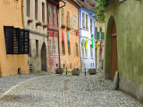 Medieval Old Town, Sighisoara, Transylvania, Romania Photographic Print by Russell Young