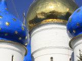 Assumption Cathedral, Trinity Lavra of St. Sergius, Sergiyev Posad, Golden Ring, Russia Fotodruck von Ivan Vdovin