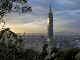 Taipei 101 Skyscraper, Taipei, Taiwan Photographic Print by Michele Falzone
