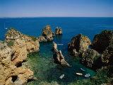 Ponta Da Piedade, Lagos, Algarve, Portugal Photographic Print by Steve Vidler