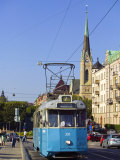 Tram, Stockholm, Sweden Photographic Print by Russell Young