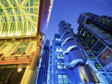 Leadenhall Street Market and Lloyds Building, London, England Photographic Print by Steve Vidler