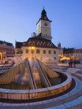 Council House, Piata Sfatului, Brasov, Transylvania, Romania Photographic Print by Gavin Hellier