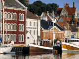 Harbour and Gamle Stavanger, Norway Photographic Print by Doug Pearson