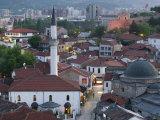 Mustafa Pasha Mosque, Skopje, Macedonia Photographic Print by Walter Bibikow
