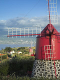 Traditional Windmill, Faial Island, Azores, Portugal Photographic Print by Alan Copson