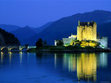 Eilean Donan Castle, Loch Duich, Highlands, Scotland Photographic Print by Steve Vidler