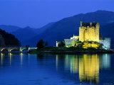 Eilean Donan Castle, Loch Duich, Highlands, Scotland Photographic Print by Steve Vidler