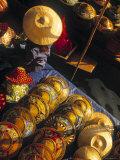 Floating Market, Damnoen Saduak, Ratchaburi, Thailand Photographic Print by Walter Bibikow
