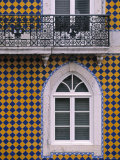 Window, Bairro Alto, Lisbon, Portugal Photographic Print by Walter Bibikow